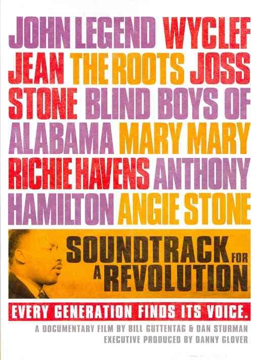 SOUNDTRACK FOR A REVOLUTION (DVD)